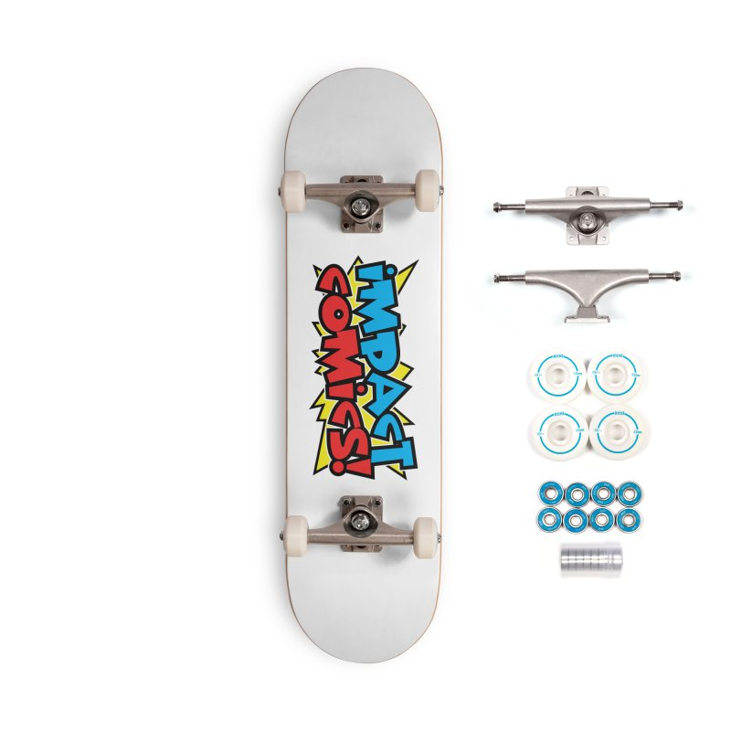 Impact Comics Colour Star logo Accessories Skateboard by Impact Comics official merch shop