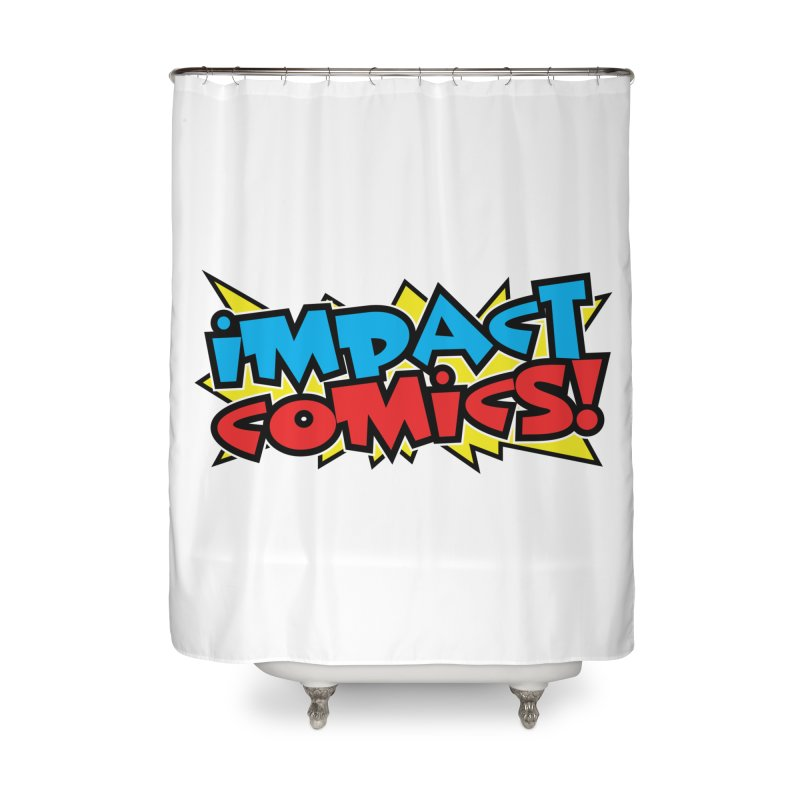 Impact Comics Colour Star logo in Shower Curtain by Impact Comics official merch shop