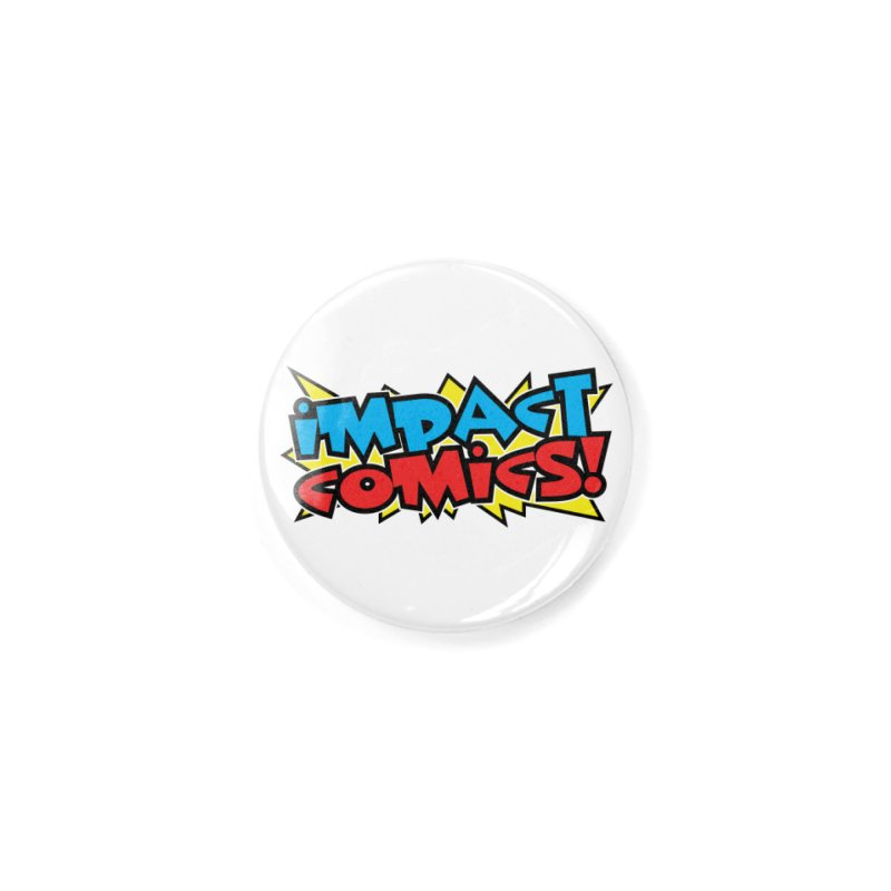 Impact Comics Colour Star logo Accessories Button by Impact Comics official merch shop