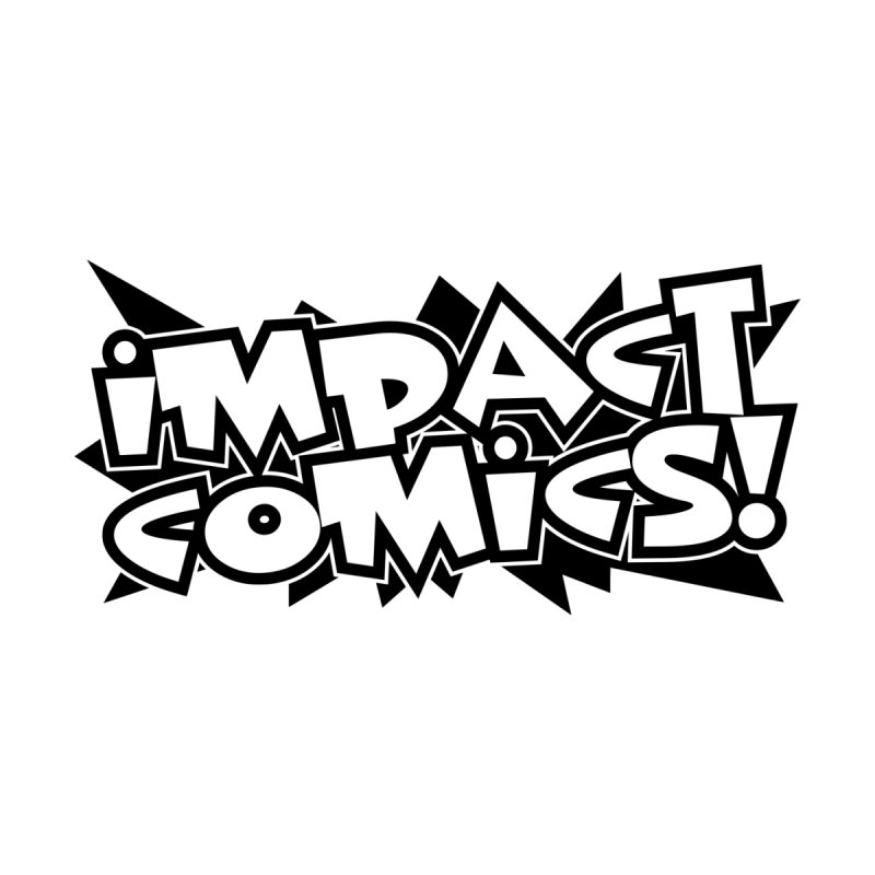 Impact Comics Black Star Logo Accessories Sticker by Impact Comics official merch shop
