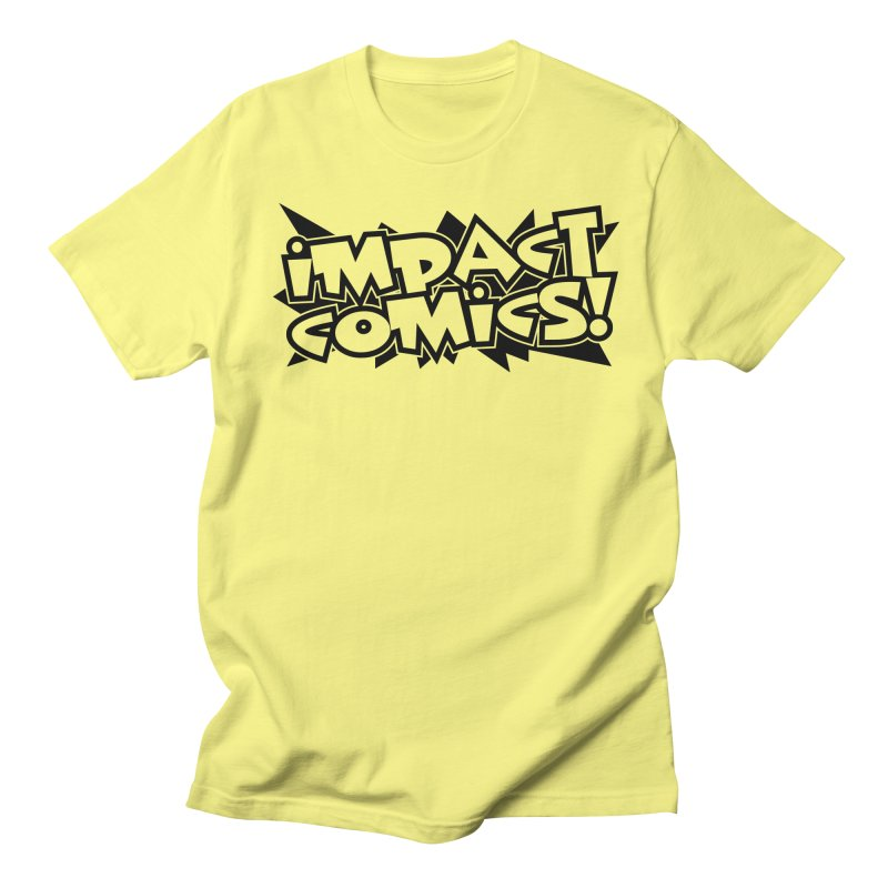 Impact Comics Black Star Logo Men's T-Shirt by Impact Comics official merch shop