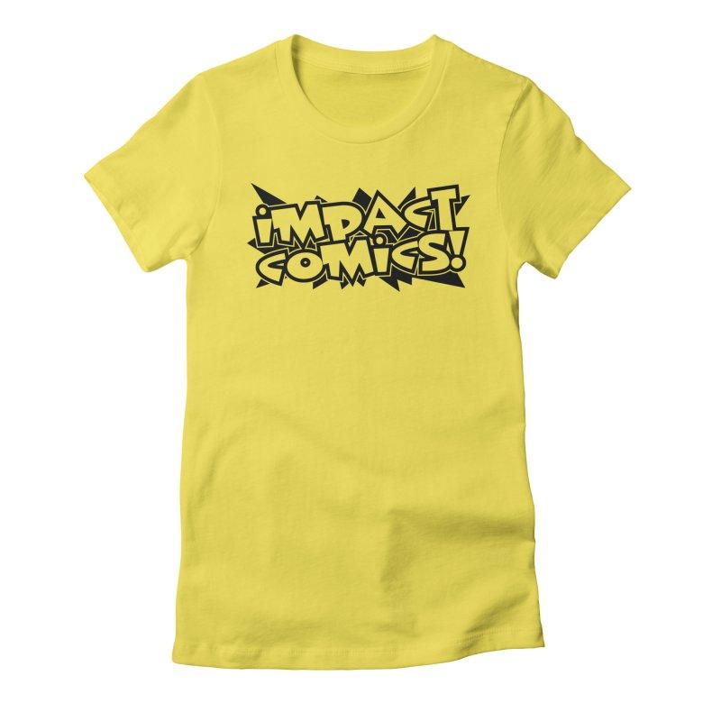 Impact Comics Black Star Logo Women's T-Shirt by Impact Comics official merch shop