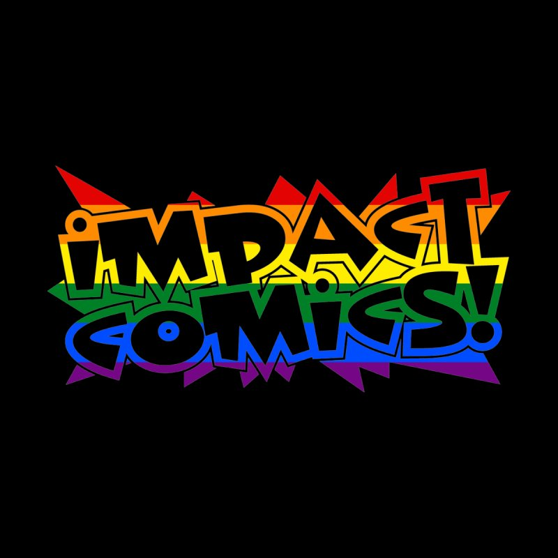 Impact Comics Logo Rainbow Star Women's Tank by Impact Comics official merch shop