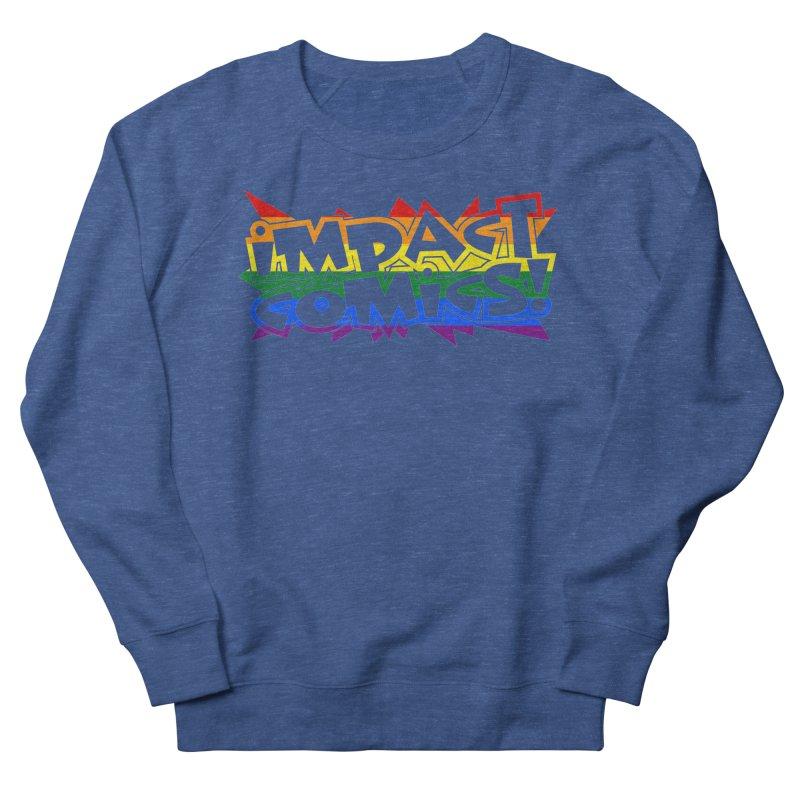 Impact Comics Logo Rainbow Star Men's Sweatshirt by Impact Comics official merch shop