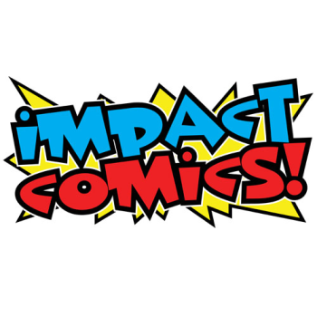 Impact Comics official merch shop Logo