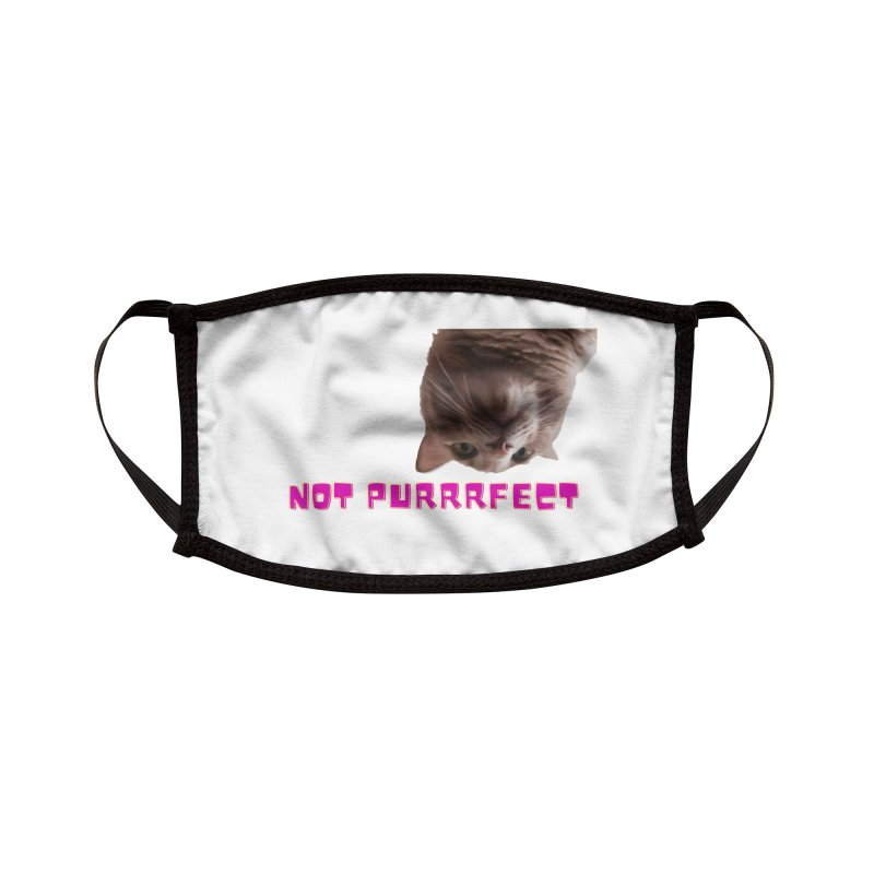 not purrrfect Accessories Face Mask by Imperfect Fifth's Artist Shop