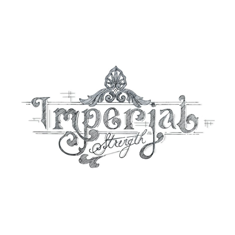 Imperial Logo Men's T-Shirt by imperialstrength's Artist Shop