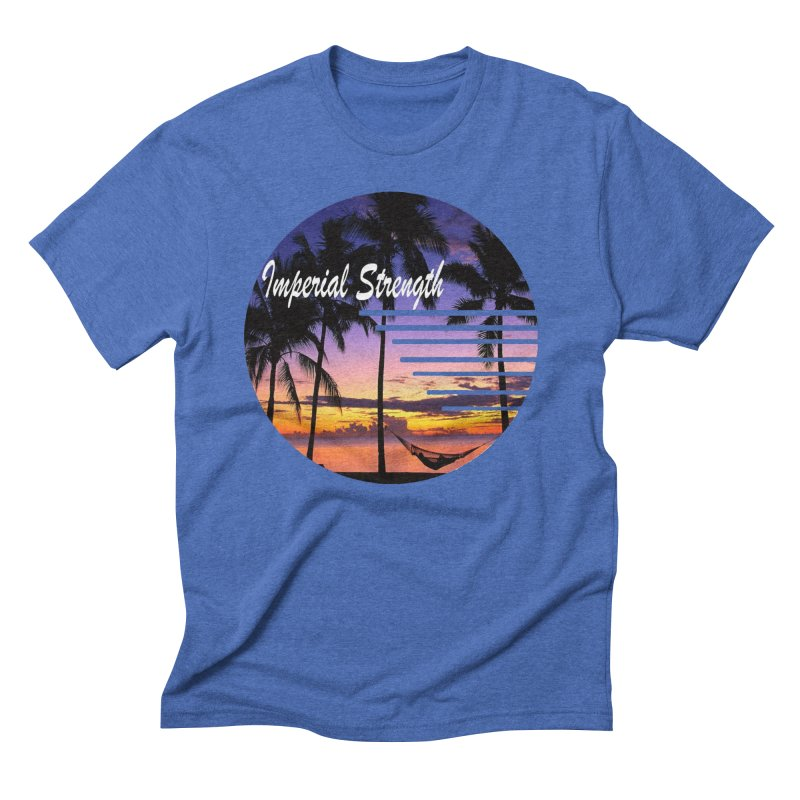 Imperial Sunset Men's T-Shirt by imperialstrength's Artist Shop