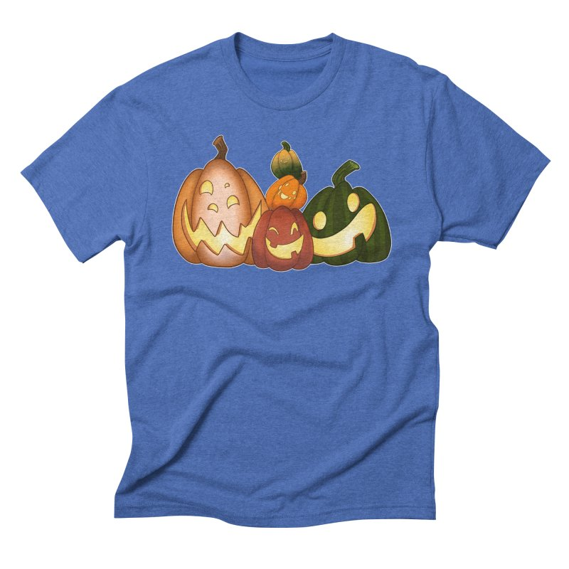 Happy Pumpkin Pals Men's T-Shirt by impistry's Artist Shop