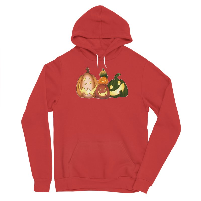 Happy Pumpkin Pals Women's Pullover Hoody by impistry's Artist Shop
