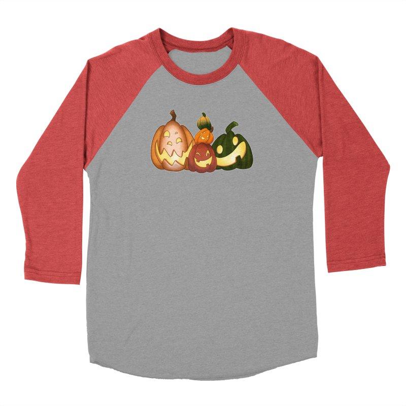 Happy Pumpkin Pals Men's Longsleeve T-Shirt by impistry's Artist Shop