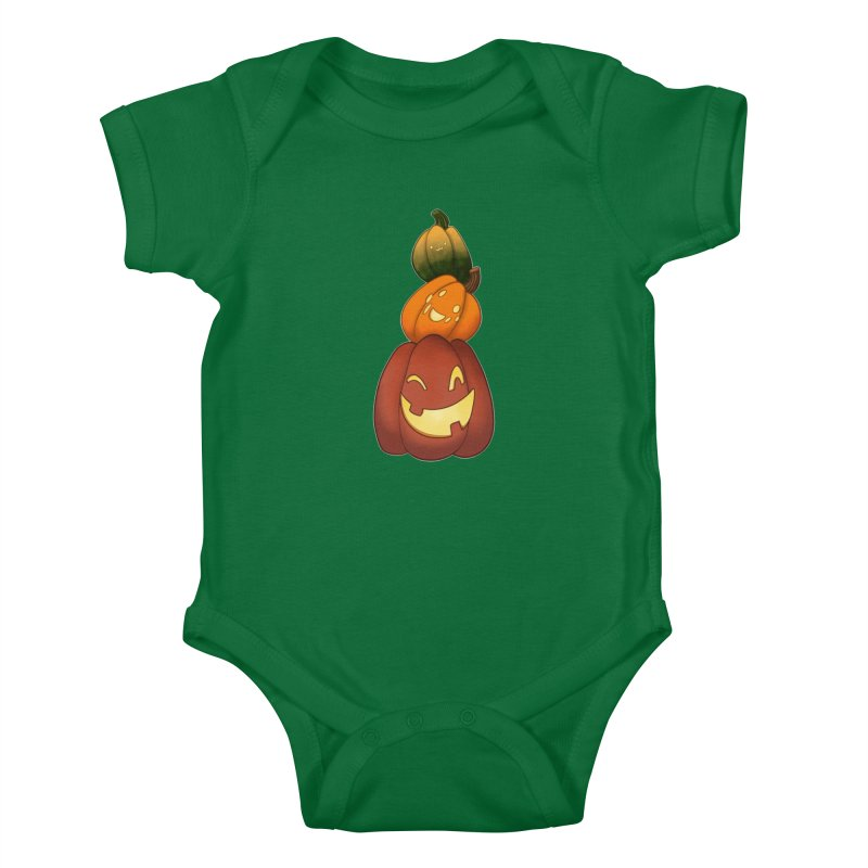 Stack 'o Friends Kids Baby Bodysuit by impistry's Artist Shop