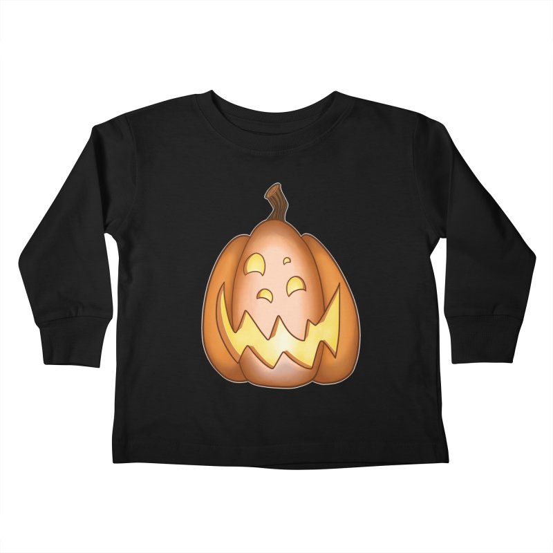 Four-eyes Kids Toddler Longsleeve T-Shirt by impistry's Artist Shop