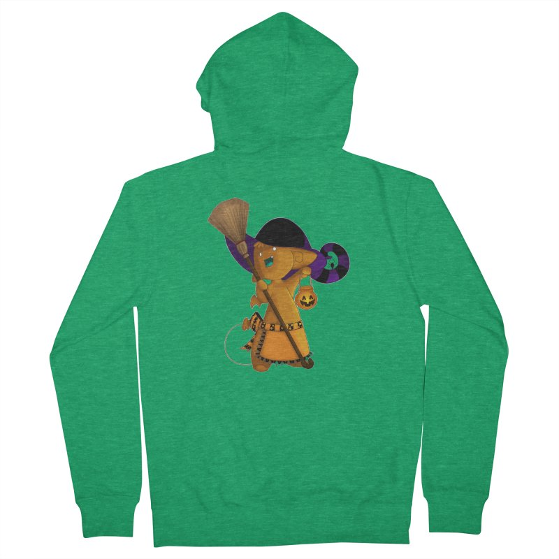 Witchy little helper Women's Zip-Up Hoody by impistry's Artist Shop