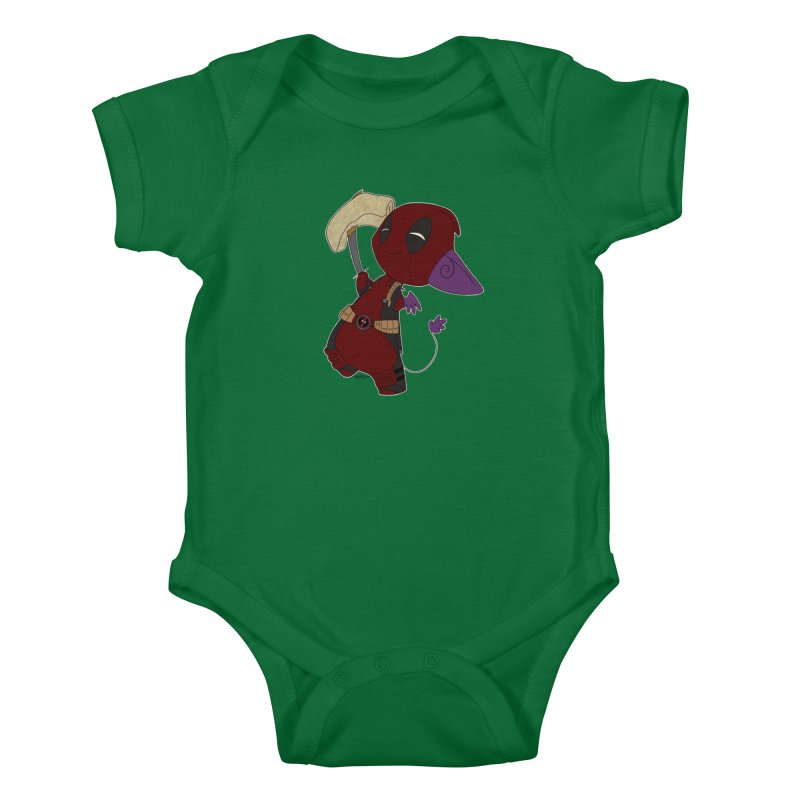 DeadIMPool Kids Baby Bodysuit by impistry's Artist Shop