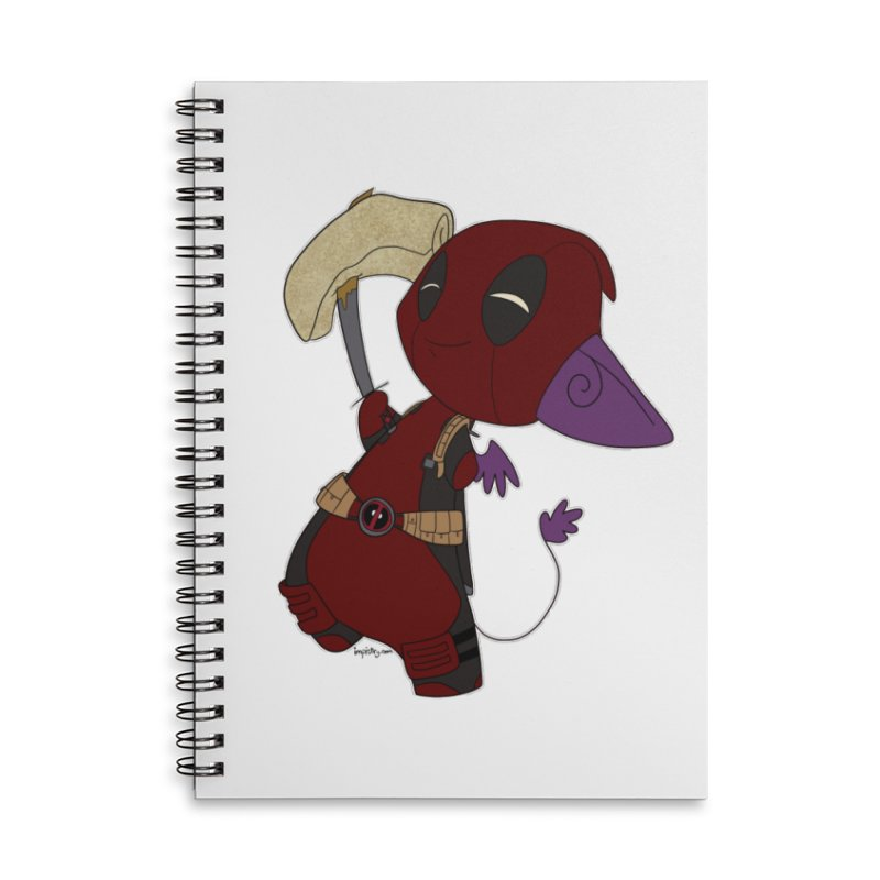 DeadIMPool Accessories Notebook by impistry's Artist Shop