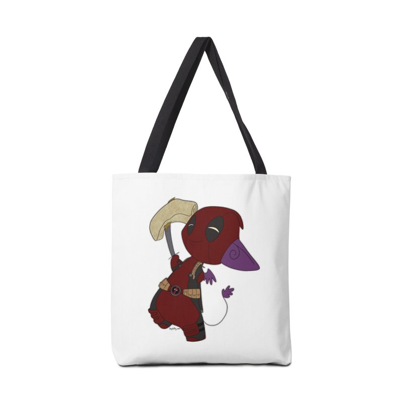DeadIMPool Accessories Bag by impistry's Artist Shop