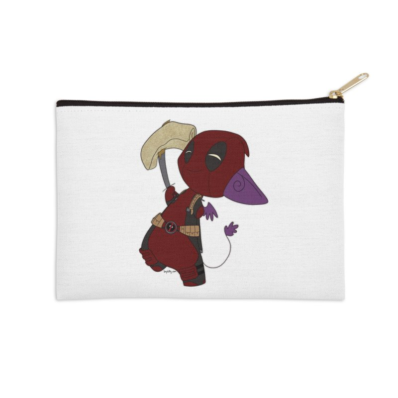 DeadIMPool Accessories Zip Pouch by impistry's Artist Shop