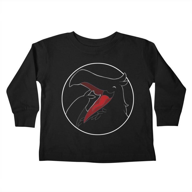 Caw Caw Caw (Ha ha ha)! Kids Toddler Longsleeve T-Shirt by impistry's Artist Shop