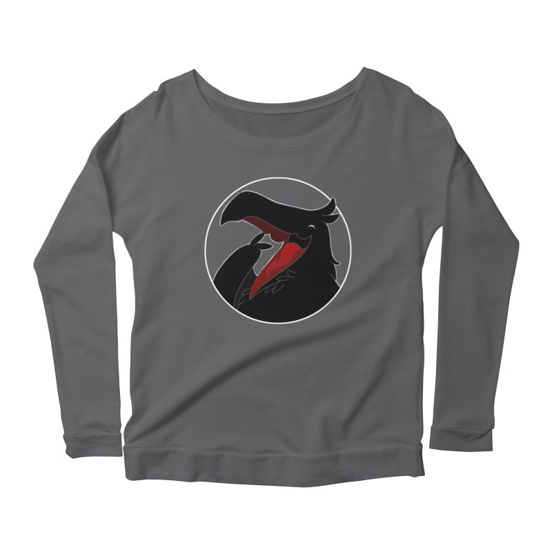 Caw Caw Caw (Ha ha ha)! Women's Longsleeve T-Shirt by impistry's Artist Shop