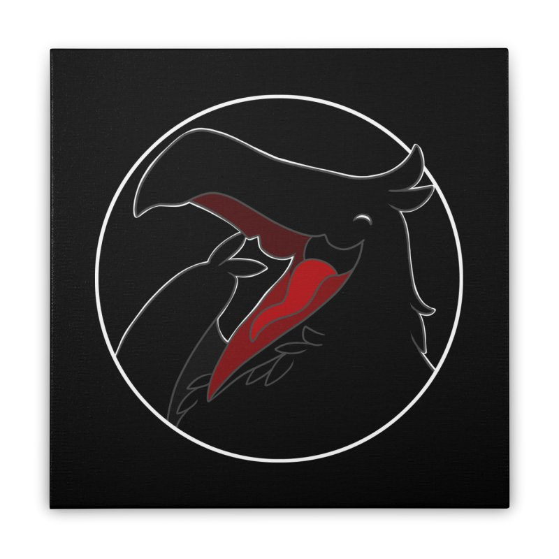 Caw Caw Caw (Ha ha ha)! Home Stretched Canvas by impistry's Artist Shop