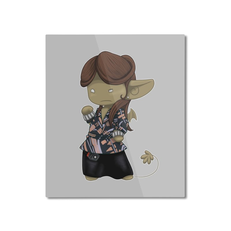 The Rani Impling Home Mounted Aluminum Print by impistry's Artist Shop