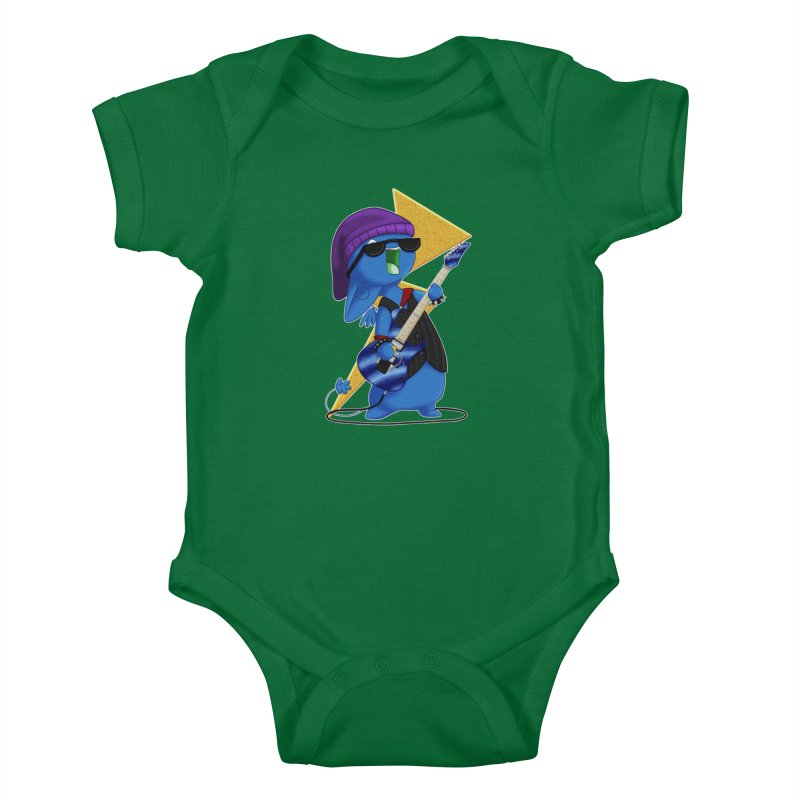 Rock City Kids Baby Bodysuit by impistry's Artist Shop