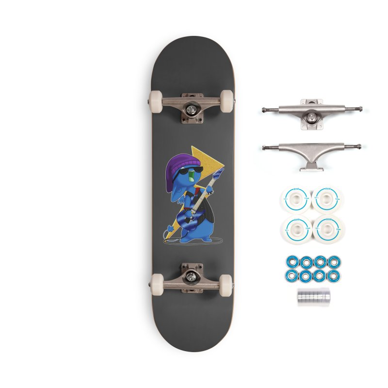 Rock City Accessories Skateboard by impistry's Artist Shop