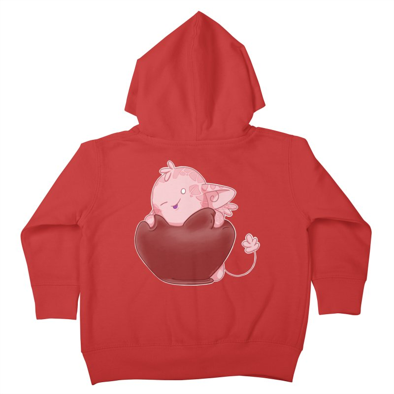 Squishy Heart Kids Toddler Zip-Up Hoody by impistry's Artist Shop