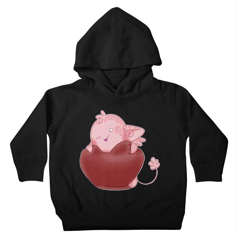 Squishy Heart Kids Toddler Pullover Hoody by impistry's Artist Shop