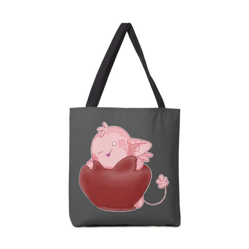 Squishy Heart Accessories Bag by impistry's Artist Shop