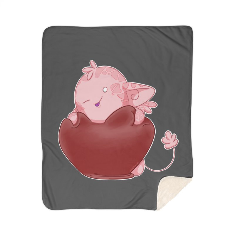 Squishy Heart Home Blanket by impistry's Artist Shop
