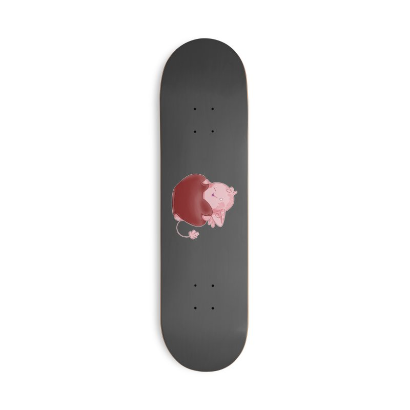 Squishy Heart Accessories Skateboard by impistry's Artist Shop