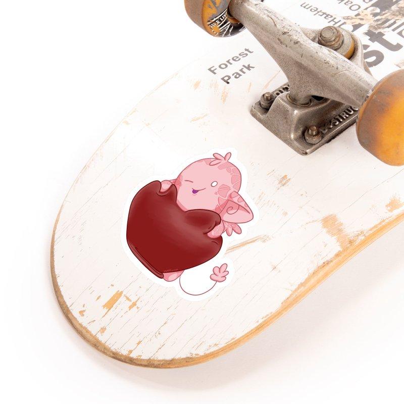Squishy Heart Accessories Sticker by impistry's Artist Shop