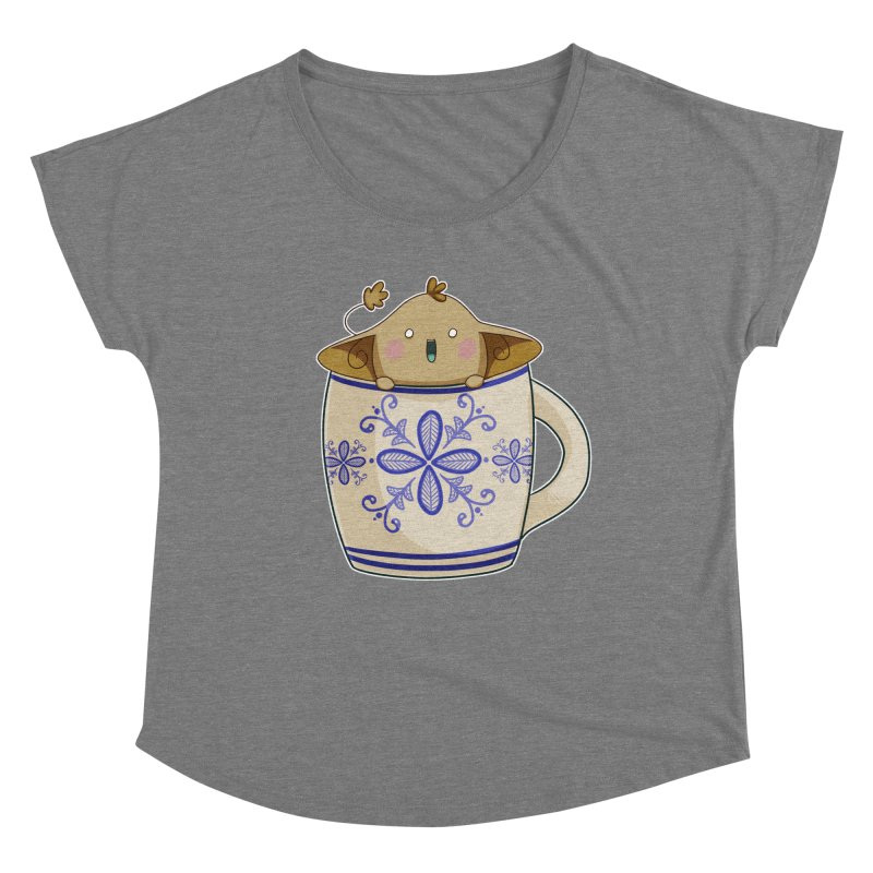 Power of the java! Women's Scoop Neck by impistry's Artist Shop