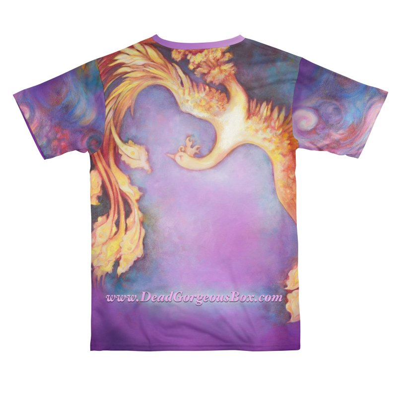 Dead Gorgeous Purple Firebird for RHS Men's Cut & Sew by Dead Gorgeous Artist Shop