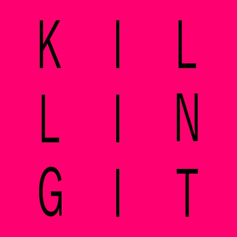 Killing It - Black by Inappropriate Wares