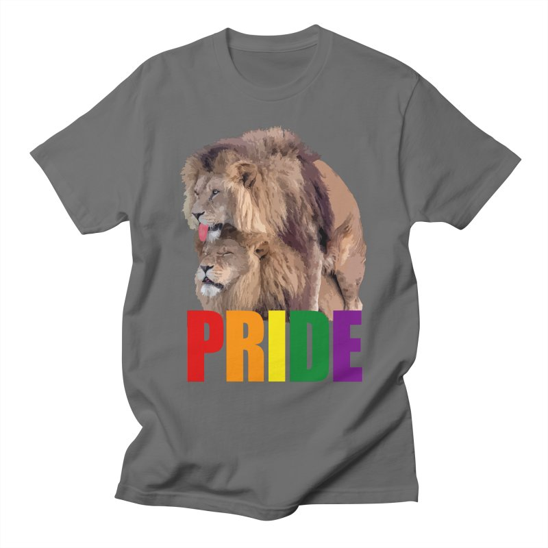 Lion Pride Men's T-Shirt by Inappropriate Wares