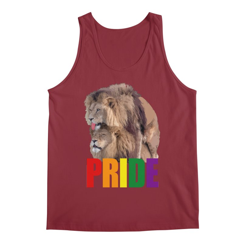 Lion Pride Men's Regular Tank by Inappropriate Wares