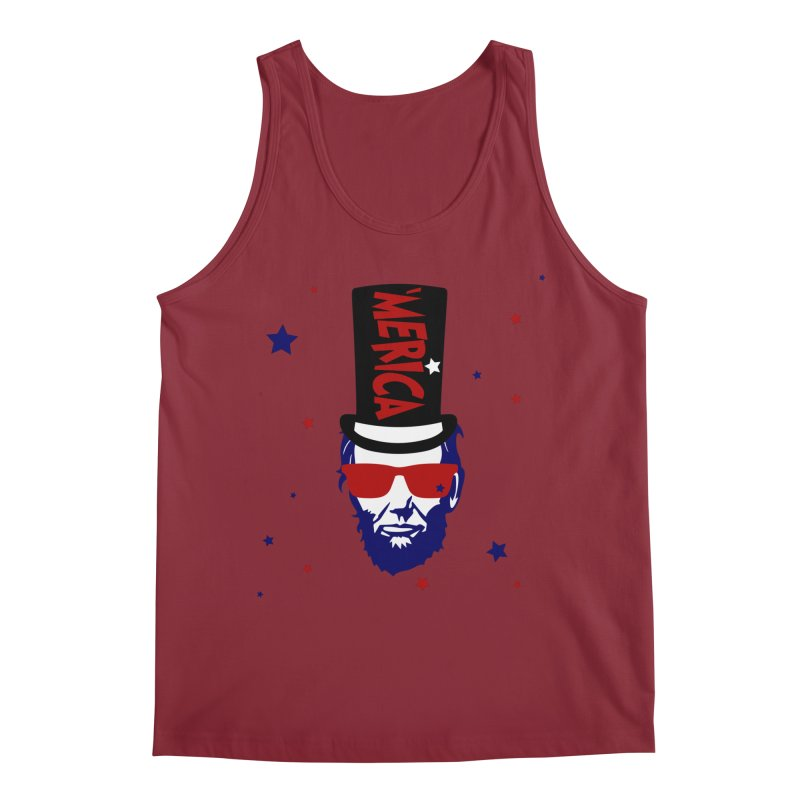 Merican Abe Men's Regular Tank by Inappropriate Wares