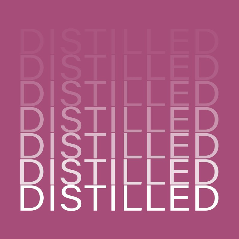Distilled Men's T-Shirt by Inappropriate Wares