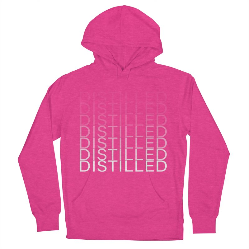 Distilled Women's French Terry Pullover Hoody by Inappropriate Wares