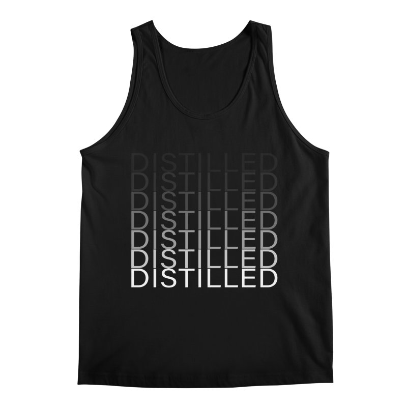 Distilled Men's Regular Tank by Inappropriate Wares