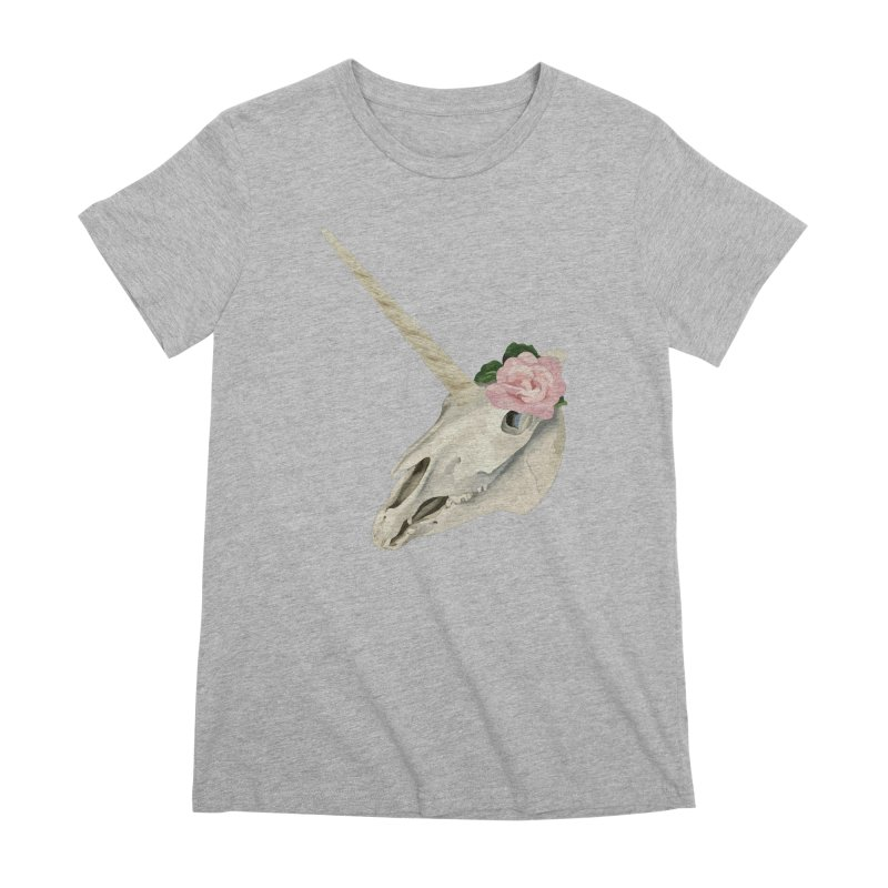 Uni'Keeffe Women's Premium T-Shirt by Inappropriate Wares