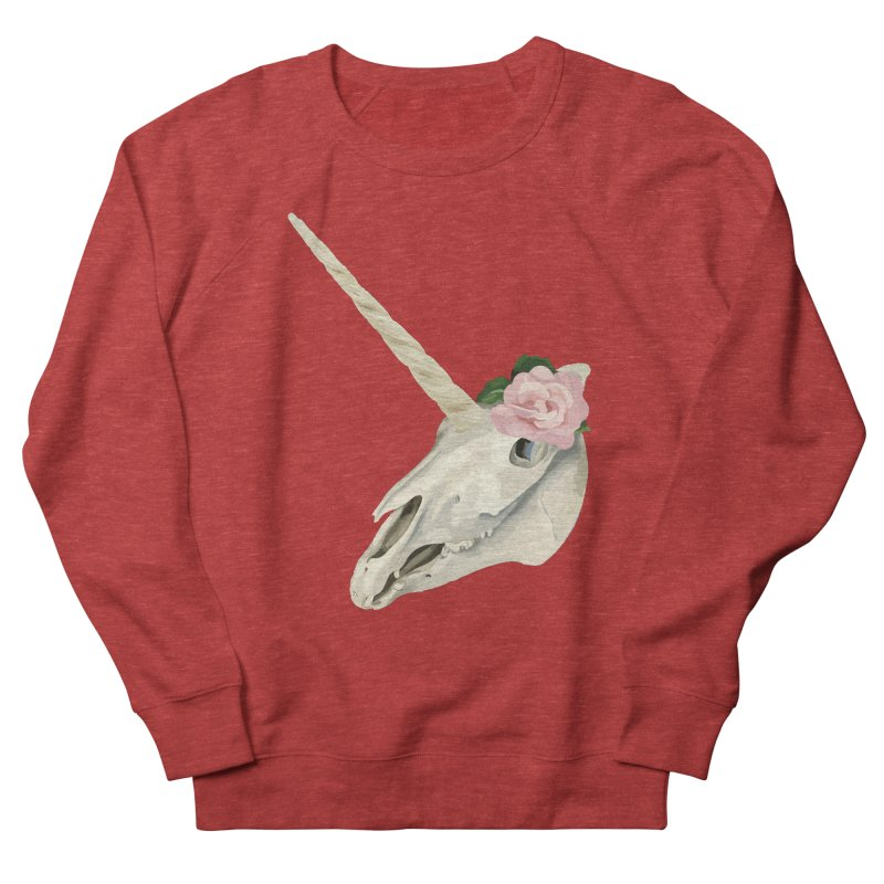 Uni'Keeffe Women's French Terry Sweatshirt by Inappropriate Wares