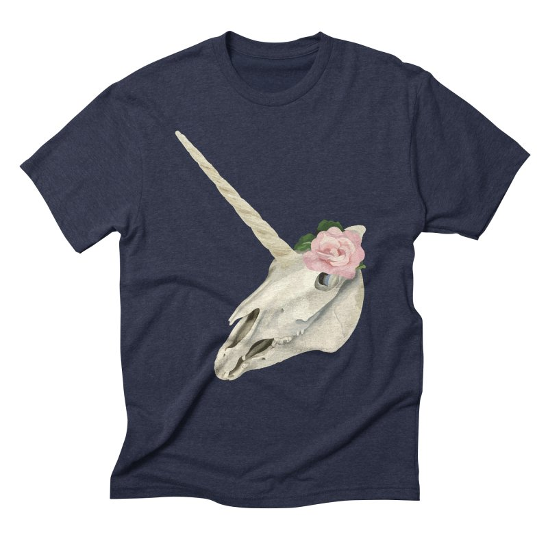Uni'Keeffe Men's Triblend T-Shirt by Inappropriate Wares