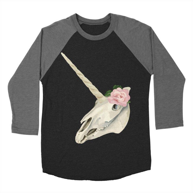 Uni'Keeffe Men's Baseball Triblend Longsleeve T-Shirt by Inappropriate Wares