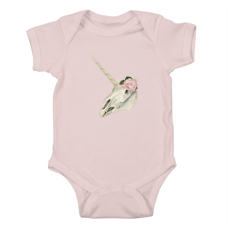 Uni'Keeffe Kids Baby Bodysuit by Inappropriate Wares