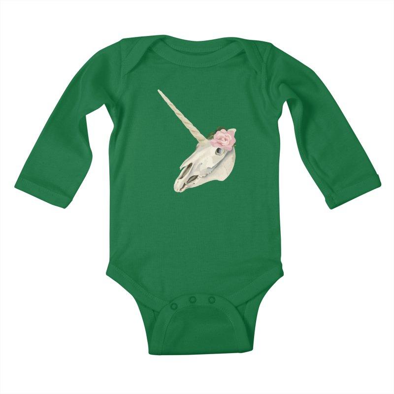 Uni'Keeffe Kids Baby Longsleeve Bodysuit by Inappropriate Wares