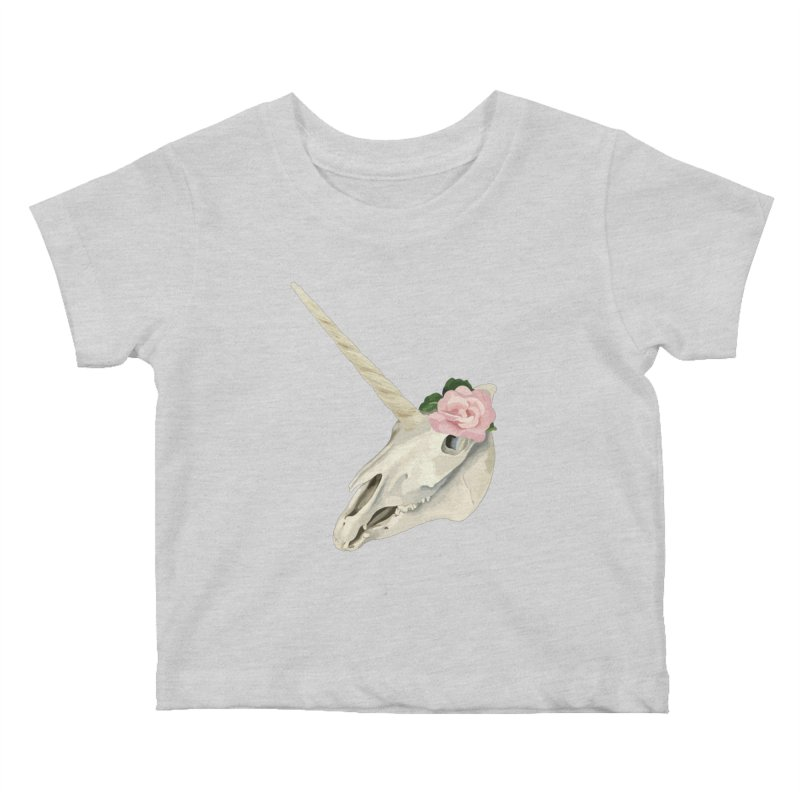 Uni'Keeffe Kids Baby T-Shirt by Inappropriate Wares